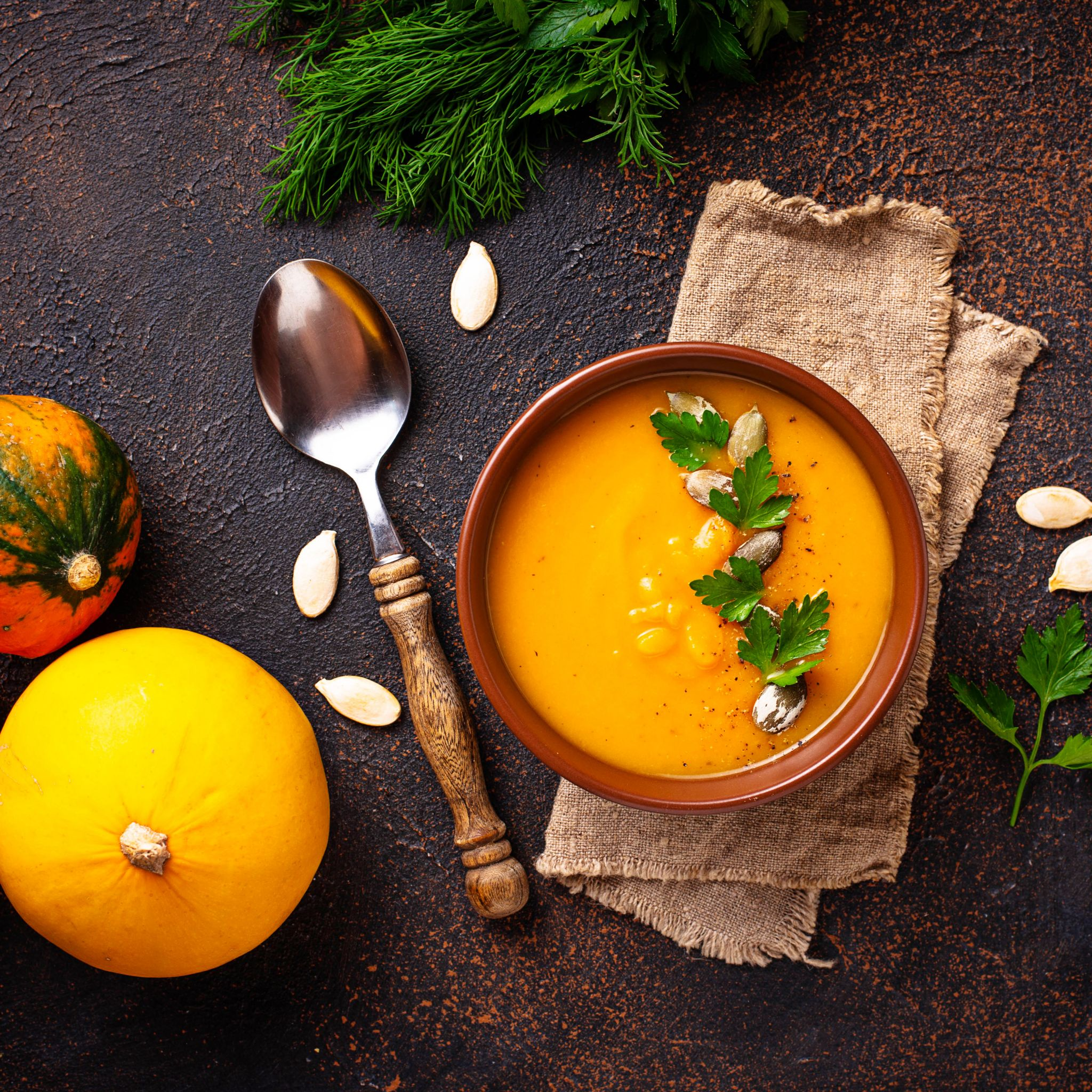 Pumpkin Soup-Not Just For The Holidays